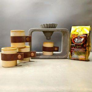 Cafetera Kemex + 4 tazas expreso + 1 café orgánico.